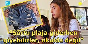 Şort Giydiği İçin Okuldan 3 Gün Uzaklaştırma Almıştı: 13 Yaşındaki Genç Kız İsrail'de Şort Devrimi Yaptı!