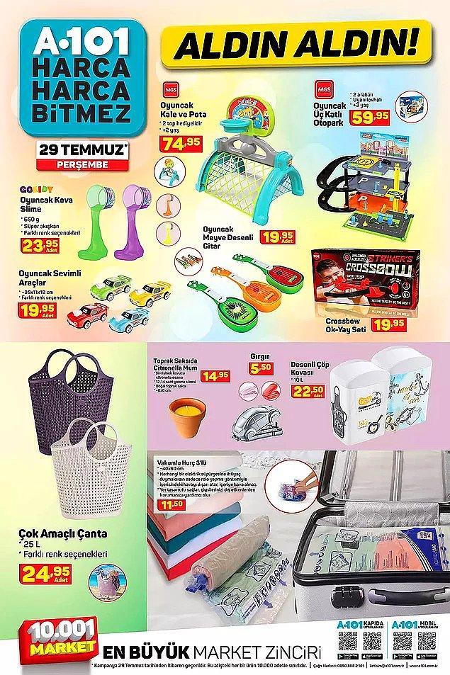 Çocuklar için eğlenceli oyuncaklar satışta olacak.