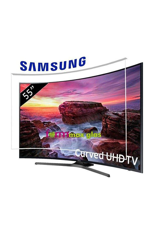 4. Curved tv kavisli ekranıyla daha geniş bir alanda izliyormuş hissi veriyor.