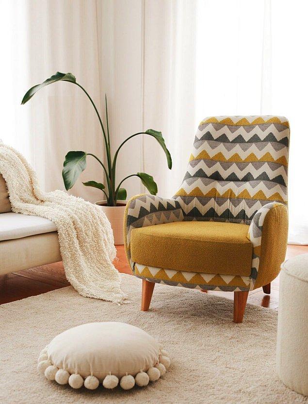 Bu berjer, vintage mobilya sevenlerin kabini çalacak!