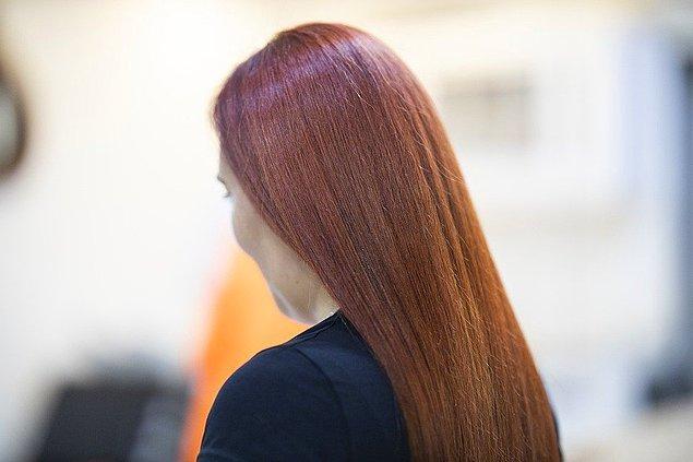 1. Öncelikle saçlarınızın uzama hızı yavaşlayabilir.