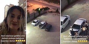 Kızını İstemeye Gelen Kaportacı Damada Fırsattan İstifade Arabayı Gösteren Baba