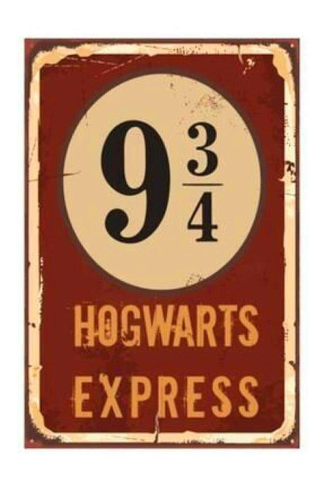 6. Hogwarts express yolcularını perona alalım...