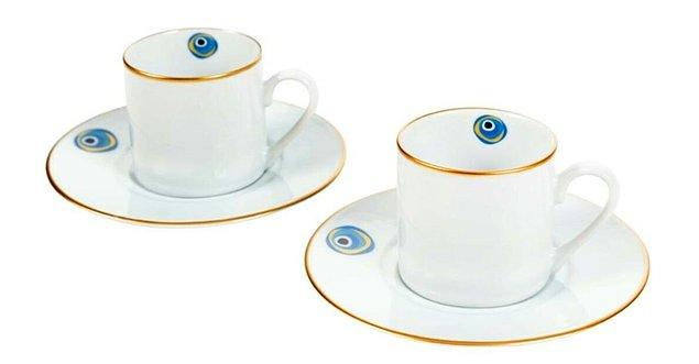 2. Her sabah Türk kahvesini içmeden kendine gelemeyenler için harika bir fincan.