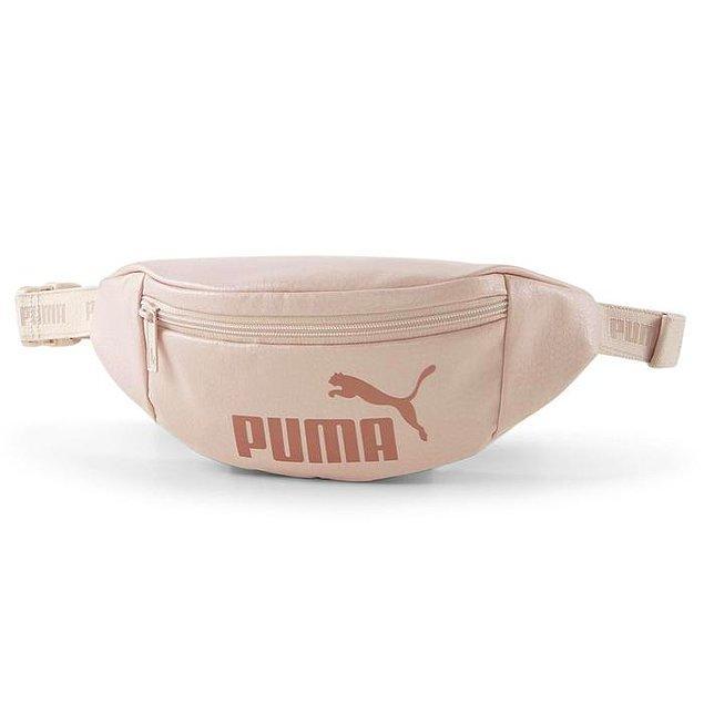 4. Bel çantası kullanmaktan vazgeçemeyenlerin Puma markasına ait bu bel çantasına bayılacağına eminiz.