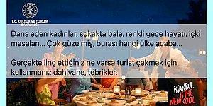 İki Yüzlüce Bulunan Danslı Eğlenceli 'Modern' İstanbul Tanıtım Filmine Tepki Yağdı