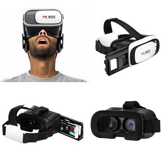 8. Uygun fiyatlı bir sanal gerçeklik gözlüğü harika bir hediye!