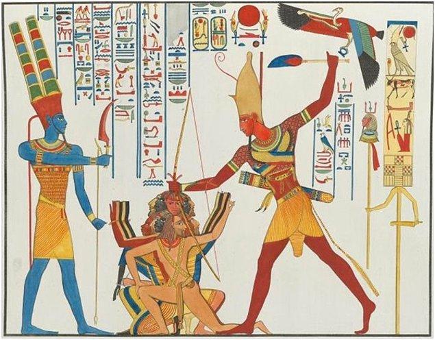 Mısırlılar daha çok birinci yöntemi uygularlardı.