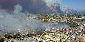 Antalya Manavgat'ta Orman Yangını: Yerleşim Yerlerine Kadar İlerledi