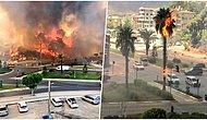 Antalya Manavgat'ta Orman Yangını: Alevler Yerleşim Yerlerine Sıçradı