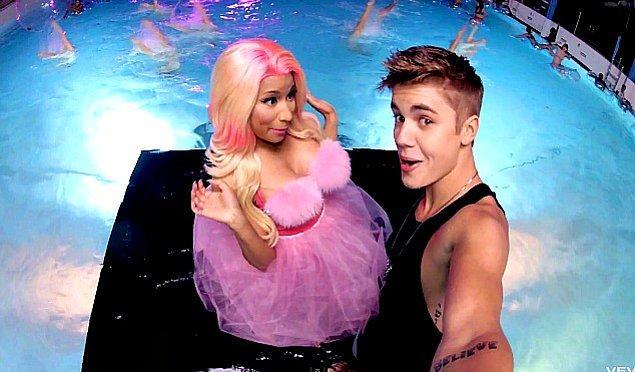 15. Justin Bieber'ın en sevmediği şarksı ise Nicki Minaj'ın eşlik ettiği 'Beauty and the Beat'.