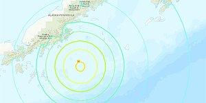 ABD'nin Alaska Eyaletinde Deprem: Tsunami Uyarısı Verildi