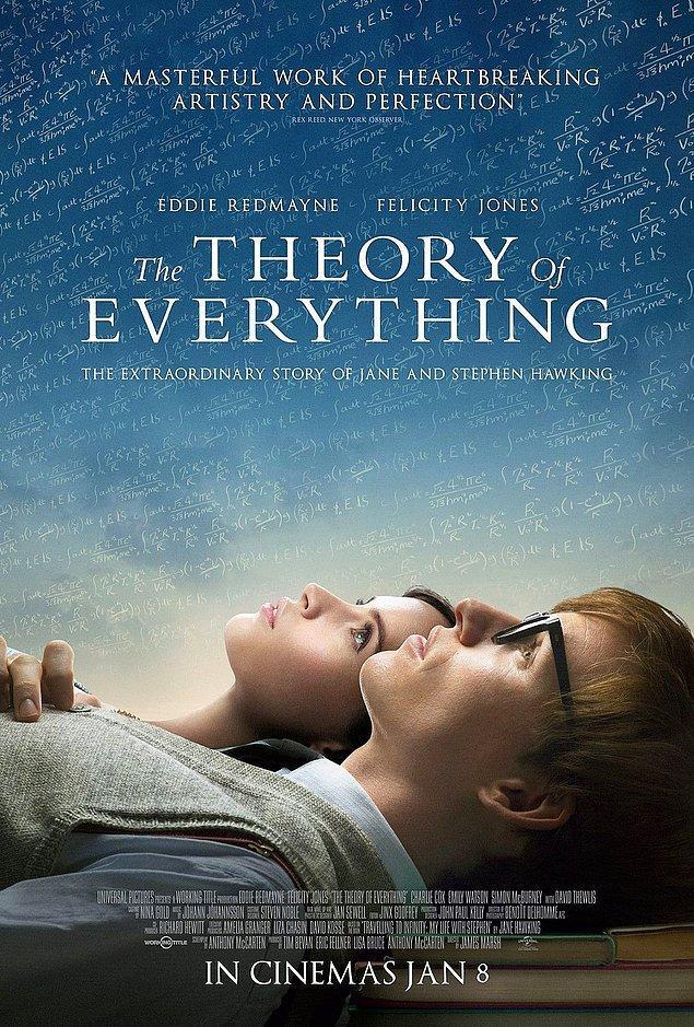 9. The Theory of Everything / Her Şeyin Teorisi (2014) IMDb: 7.7