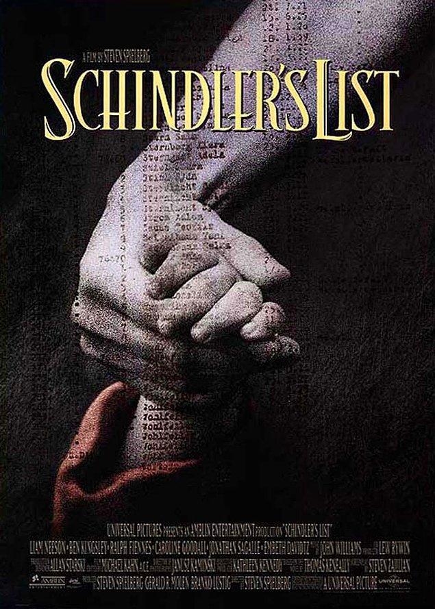 1. Schindler's List / Schindler'in Listesi (1993) IMDb: 8.9