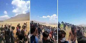 İYİ Partili İlay Aksoy, Binlerce Afgan Mültecinin Yürürken Kaydedilen Görüntülerini Paylaştı