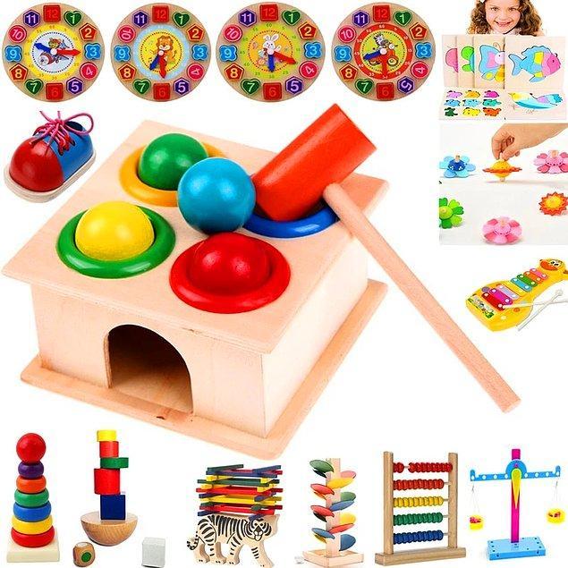 12. Eğitici oyuncaklar
