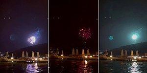 Türkiye Yangınlarla Boğuşurken Havai Fişekli Kutlama Yaptılar