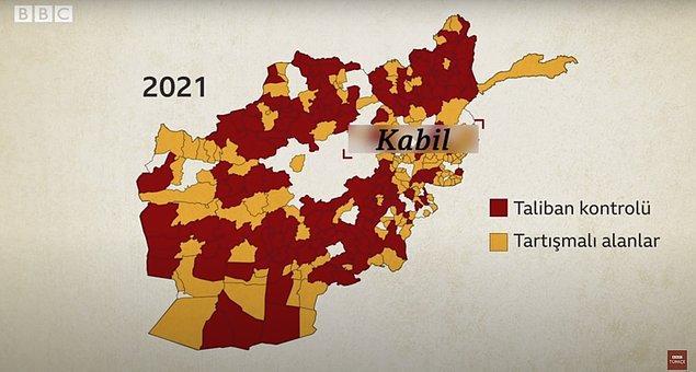 Ancak Taliban ile bir türlü uzlaşma sağlanamaz. Ayrıca 19 yıldır Afganistan'da olan ABD'nin etkinliği 2020'de Trump yönetimi tarafından sert bir şekilde eleştirilmeye başlar. Taliban ise...