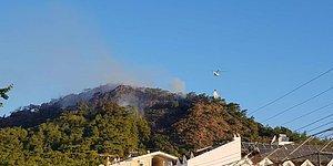 Müdahale Sürüyor: Marmaris'teki Yangında İkinci Gün