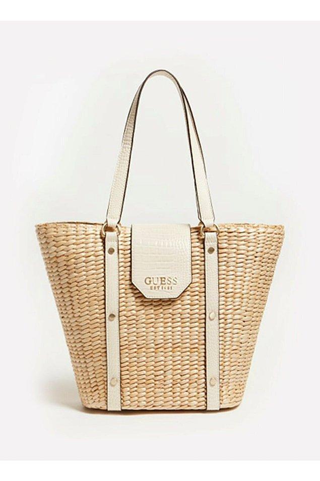7. Guess marka el çantası, yaz için ideal...