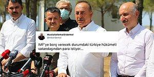 'Yardım Hesabımız Açıldı, Milletimiz Cömerttir' Diyen Mevlüt Çavuşoğlu Sosyal Medyanın Gündeminde...
