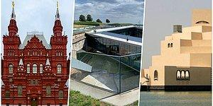 Çarpıcı Dış Dizaynları İle Gördüğünüzde Ağzınızı Açık Bırakacak Dünyanın Dört Bir Yanında Bulunan 30 Müze