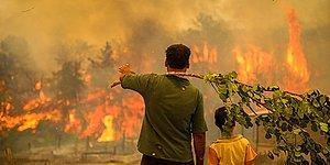 Ciğerlerimiz Yanıyor... Türkiye'nin Dört Bir Yanındaki Yangınlarda Vatandaşların Kaydettikleri Görüntüler