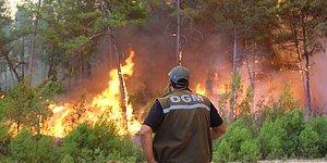 Antalya'da Yangına Müdahale Eden 2 İşçi Hayatını Kaybetti