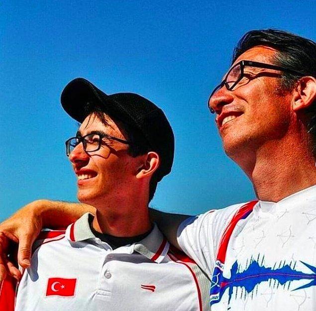 Oğluyla gurur duyduğunu söyleyen Metin Gazoz: