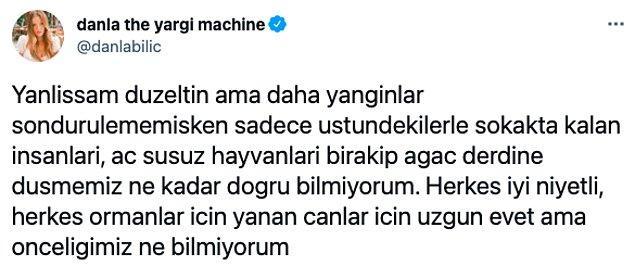 Sosyal medya fenomeni Danla Bilic, fidan bağışlayanları inceden eleştirdi ve tartışmanın ateşini fitilledi: