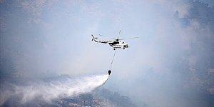 Bakan Duyurdu: Antalya ve Muğla'daki 5 Bölgede Yangınlar Sürüyor