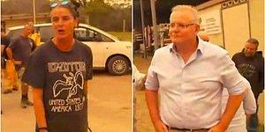 Türkiye'deki Yangınlardan Sonra Yine Gündem Oldu: Avustralya'da Afetzedeler Başbakana Küfür Edip Elini Sıkmadı