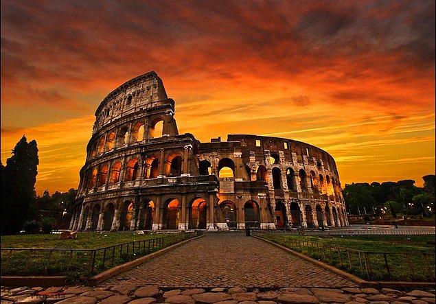 1. Kolezyum / İtalya (Roma)