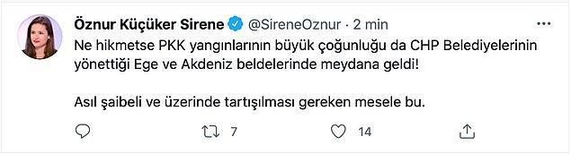 """5. """"Türkiye uzmanı"""" olarak kendini tanıtan hanımefendi de attığı bu tweet'i sildi."""