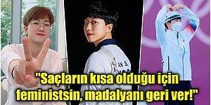 Olimpiyat Rekoru Kıran Güney Koreli Okçu An San, Kendi Ülkesinde 'Erkek Düşmanı' Olmakla Suçlanıyor!