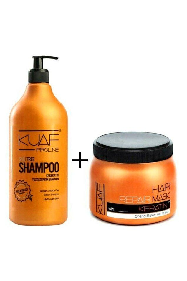 Saç maskesi ile set olarak da satılıyor. Saç bakımına önem verenler ve bloggerlar bu ikili seti öneriyor.