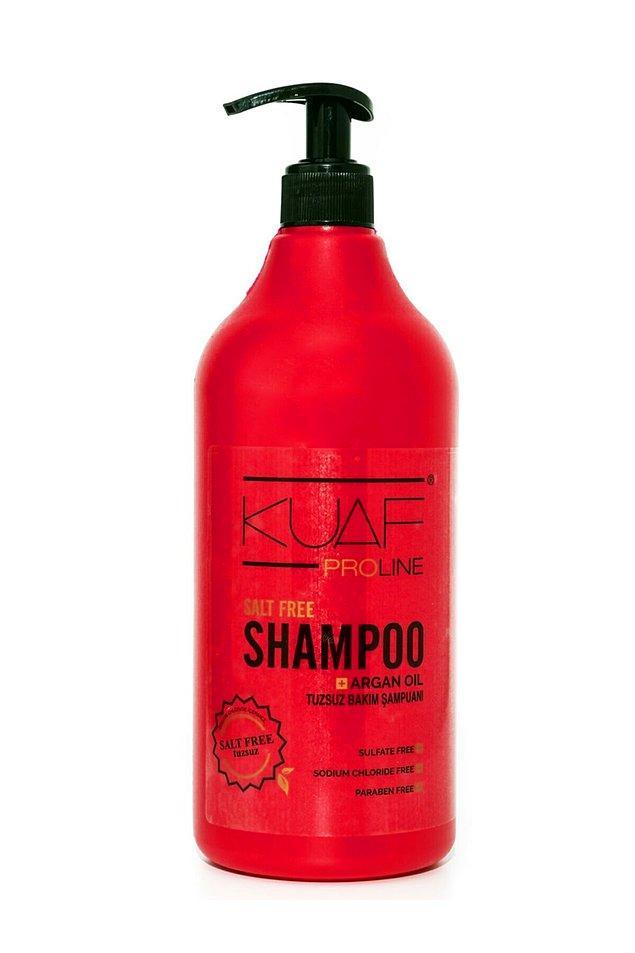 Kuaf şampuan denilince akla ilk keratinli olanı gelse de, tuzsuz argan yağlı bakım şampuanının da ondan geri kalır yanı yok.