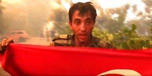 Yardıma Gelen Azerbaycanlı Asker: 'Ev Yanıyordu İçeri Girdim İnsan Yoktu Ben de Türk Bayrağını Çıkardım'