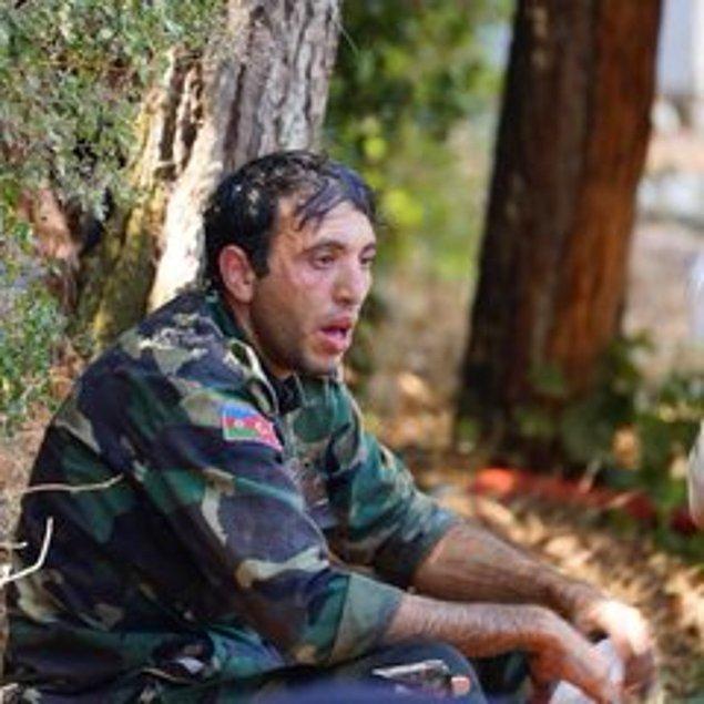 15. Azerbaycan'dan yangın için gelen kardeşlerimiz;