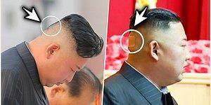 Kuzey Kore'nin Lideri Kim Jong-Un'un Kafasının Arkasındaki İz ve Bandajlı Görüntüleri Gündeme Oturdu!