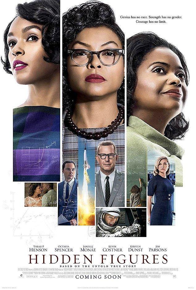 5. Hidden Figures - IMDb 7.8