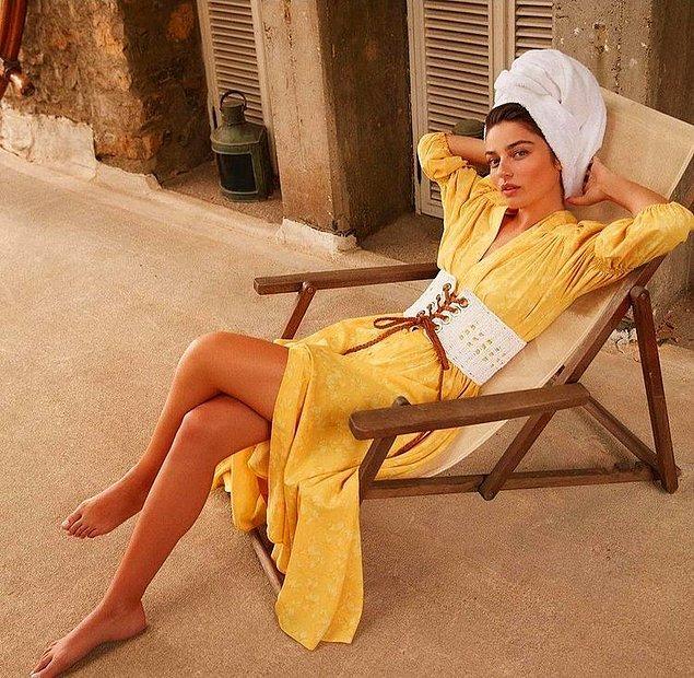 Güzeller güzeli Ayça Ayşin Turan'ın Marie Claire dergisine vermiş olduğu bu pozla içeriğimizi sonlandıralım istedim.