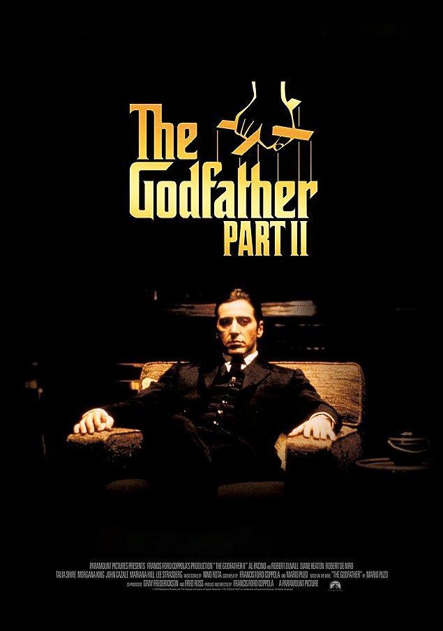 6. En İyi Film Oscar'ını kazanan ilk devam filmi: The Godfather II (1974)
