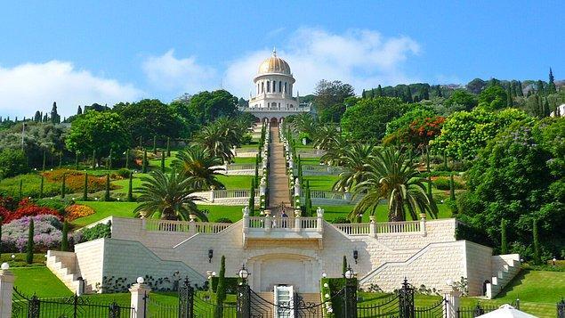 4. Baha'i Bahçeleri, İsrail