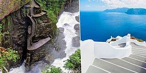 Binlerce Turistin Görmek İçin Akın Ettiği Dünyanın En Ünlü 8 Merdiveni