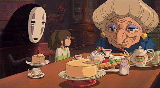 2001: Spirited Away – Hayao Miyazaki