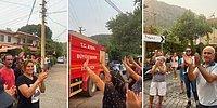 Fatih Portakal Paylaştı: 'Turgutköy'de Alevler Kontrol Altına Alındı, Yüzümüz Gülüyor'