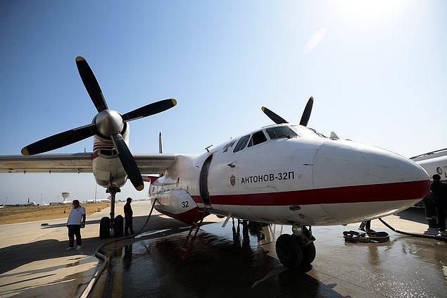 """""""Farklı ülkelerden 23 hava aracı yine bu filoya destek veriyor"""""""
