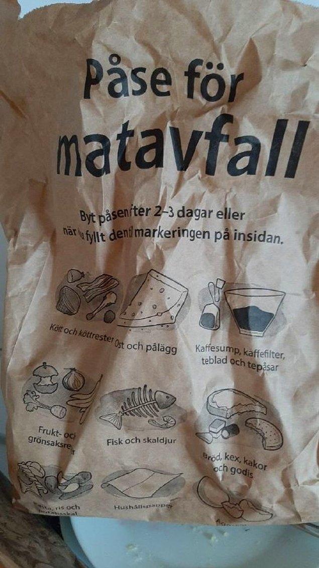 """7. """"Marketlerde plastik poşetler yerine kağıt poşetler kullanıyoruz. Bu poşetler oldukça kalın ve sonrasında gübreye de dönüştürülebiliyorlar."""""""