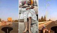 Kamyon Şoförünün Ezmeye Çalıştığı Motokurye Dehşet Anlarını Anlattı